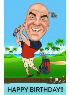 Birthday Caricatures: Click for more examples