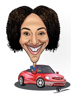 Quick fire Caricatures: from £40