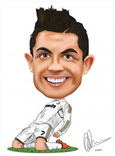 Full Detail Caricature on Paper: Click for more examples