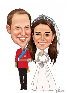 Wedding Caricatures: Click for more examples
